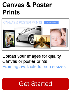 Canvas Poster printing and framing