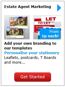 Estate Agent stationery and boards