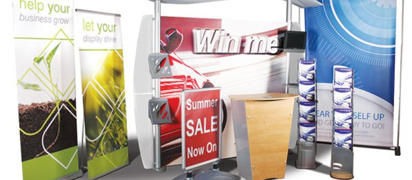 POS exhibition Banners Flags personalised